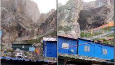 Jammu Kashmir Cloudburst Video: किश्तवार के बाद अमरनाथ गुफा के पास बादल फटा, कोई हताहत नहीं