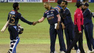 India vs Sri Lanka Match Highlights 3rd T20I Updates From Colombo: Hasaranga Shines as Sri Lanka Beat India by 7 Wickets to Clinch Series 2-1