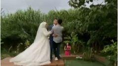 Pre Wedding Shoot Viral Video:चल रहा था प्री वेडिंग फोटोशूट, दुल्हन ने कर दी ऐसी हरकत कि पानी-पानी हो गया दूल्हा