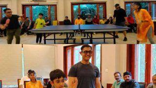 Aamir Khan, Kiran Rao, Son Azad Play Table Tennis With Naga Chaitanya And Other Laal Singh Chaddha Crew, Photos Go Viral