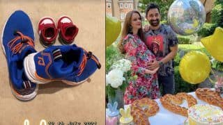 Rannvijay Singha- Prianka Welcome Baby Boy in Style, Makes His Shoe Game Strong- See Pics