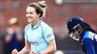 IND-W vs ENG-W 2nd ODI: Kate Cross Picks Five Wickets As India Get Bowled Out For 221