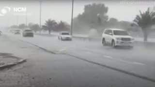 Dubai Creates Fake Rain Using Drones As Temperature Soars Over 50 Degrees   Watch