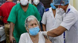 बड़ी उपलब्धि! देश में 5 दिन में दूसरी बार लगाई गईं कोरोना वैक्सीन की रिकॉर्ड 1 करोड़ से ज्यादा डोज, स्वास्थ्य मंत्री ने कही यह बात...