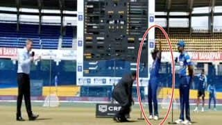 Sri Lanka vs India, 3rd ODI: Shikhar Dhawan ने सीरीज में जीता पहला टॉस, रिएक्शन देख हंस पड़े मैच रेफरी