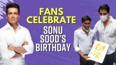 Happy Birthday Sonu Sood: सोनू सूद ने फैंस के साथ मनाया अपना जन्मदिन, देखें ये इमोशनल वीडियो