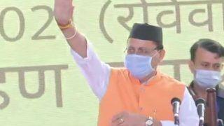 Pushkar Singh Dhami Sworn in as 11th Chief Minister of Uttarakhand