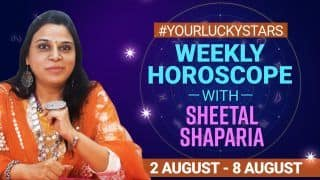 Weekly Horoscope, August 2 to August 8 2021: Lucky Numbers, Career Predictions, Love Horoscope For All Zodiac Signs | Watch Video #Astrology