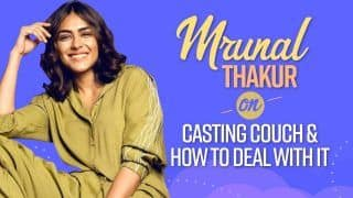 Mrunal Thakur Has THIS To Say To All Aspiring Actors On How To Deal With Casting Couch | Watch