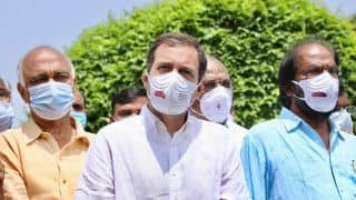 Rahul Gandhi Leads Opposition March Against Govt, Says 'Voice of People Crushed, Democracy Murdered'
