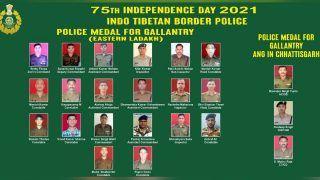 गलवान घाटी में चीनी सेना का बहादुरी से मुकाबला करने के लिए ITBP के 20 जवानों को पदक
