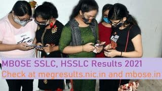 Meghalaya MBOSE SSLC, HSSLC Results Declared: 52.91% Students Pass in SSLC, 80.75% in HSSLC Arts; Here's How You Can Check Through Direct Link