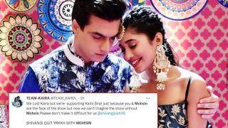 Yeh Rishta Kya Kehlata Hai: Shocked Fans Ask Shivangi Joshi to Quit The Show With Mohsin Khan, Say 'No Sirat Without Kartik'