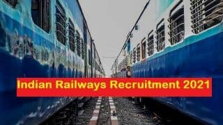 Indian Railway Recruitment 2021: Salary Up To Rs 92300, Only Few Days Left To Apply For 21 Posts, Apply Today on rrc-wr.com