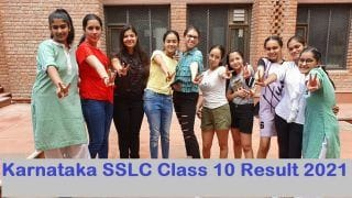 Karnataka SSLC Class 10 Result 2021: KSEEB to Announce SSLC Result on August 9 at 3:30 PM, Here's How to Check Marksheet @karresults.nic.in