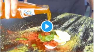 Viral Video: Surat Shop Sells Fanta Omelette & Netizens are Disgusted, Will You Ever Try It? | Watch
