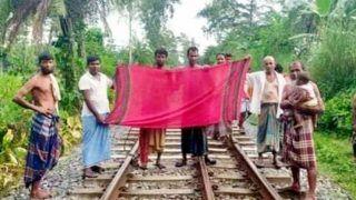 लड़के की समझदारी के कायल हुए लोग, लहराया लाल गमछा, रोक ली ट्रेन, बचाई 300 जानें