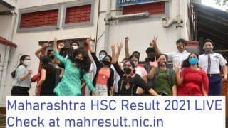 Maharashtra HSC Class 12 Result 2021 Highlights: MSBSHSE 12th Result Declared With 99.63% Pass Percentage, Students Can Check Results @ mahresult.nic.in