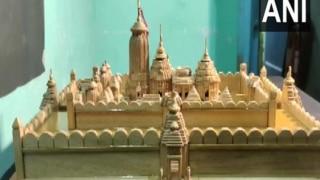 Odisha Boy Makes Miniature Wooden Replica of Puri's Jagannath Temple