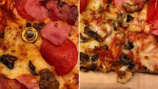 Woman Receives Iron Nuts & Bolts As Toppings on Domino's Pizza, Gets Refund   See Pics