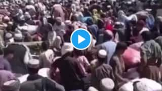 Thousands of Desperate Afghans Throng Pakistan Border to Escape Taliban Rule, Video Surfaces | Watch