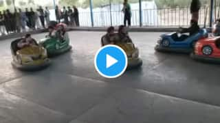 Viral Videos: Taliban Militants Ride in Bumper Cars With Guns, Have Fun at Kabul Amusement Park After Capturing Afghanistan | Watch