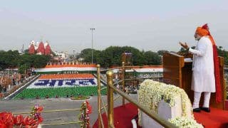 PM Modi's Independence Day Speech LIVE Streaming: When And Where to Watch