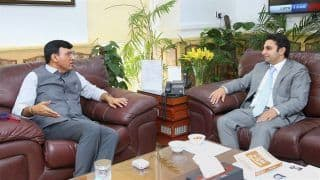 Health Minister Mandaviya Meets Poonawalla, Discusses Ramping Up Covishield Production