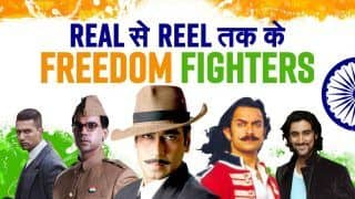 Independence Day 2021: Aamir Khan to Vicky Kaushal, List of Freedom Fighters From Real to Reel | Watch