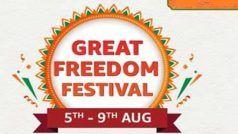 Amazon Great Freedom Festival Sale में इन स्मार्टफोन पर मिलेगी जबरदस्त छूट