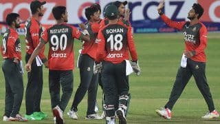 Australia Out For Their Lowest T20I Score As Bangladesh Win Series 4-1
