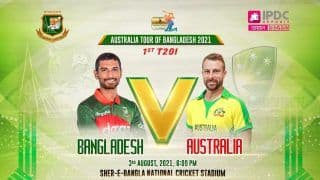 Bangladesh vs Australia Live Streaming Cricket: When And Where to Watch BAN vs AUS Stream Live Match Online, TV - All You Need to Know About 1st T20I