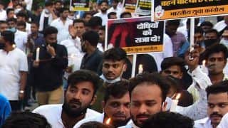 Delhi: Youth Congress Carries Candle March Against Rape-Murder of Minor Dalit Girl
