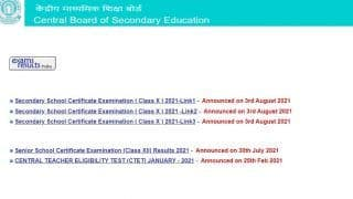 CBSE 10th Result Declared. Here's How to Download Marksheet Via DigiLocker
