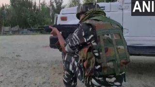 जम्मू-कश्मीर के बारामुला जिले में सुरक्षा बलों और आतंकवादियों के बीच मुठभेड़