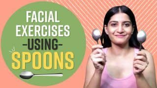 Face Yoga: Make Your Face Look Sharper By Trying These Facial Exercises Using Spoons | Watch Video