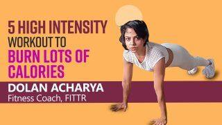 HIIT Exercises: 5 High Intensity Workouts That You Can Try Anywhere | From Mountain Climbers to Inchworm, Watch Now