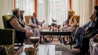 Taliban Faction Leaders Meet Former Afghan President Hamid Karzai Amid Talks To Form Govt