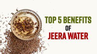 Top 5 Health Benefits of Consuming Jeera Water | Watch Video