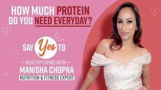 Protein Requirements: How Much Protein is Essential For Your Body? Importance And Benefits Explained By Nutritionist Manisha Chopra