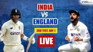 IND vs ENG MATCH HIGHLIGHTS, 3rd Test Day 1 Updates: Hameed, Burns Put Hosts in Lead; England 120/0 vs India at Stumps