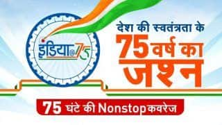 India's No.1 Hindi News Channel ZEE News Brings a Unique 75 Hour Programme on the 75th Independence Day