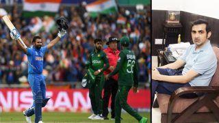T20 World Cup 2021- खुश हूं भारत और पाकिस्तान एक-दूसरे से भिड़ेंगे: Gautam Gambhir