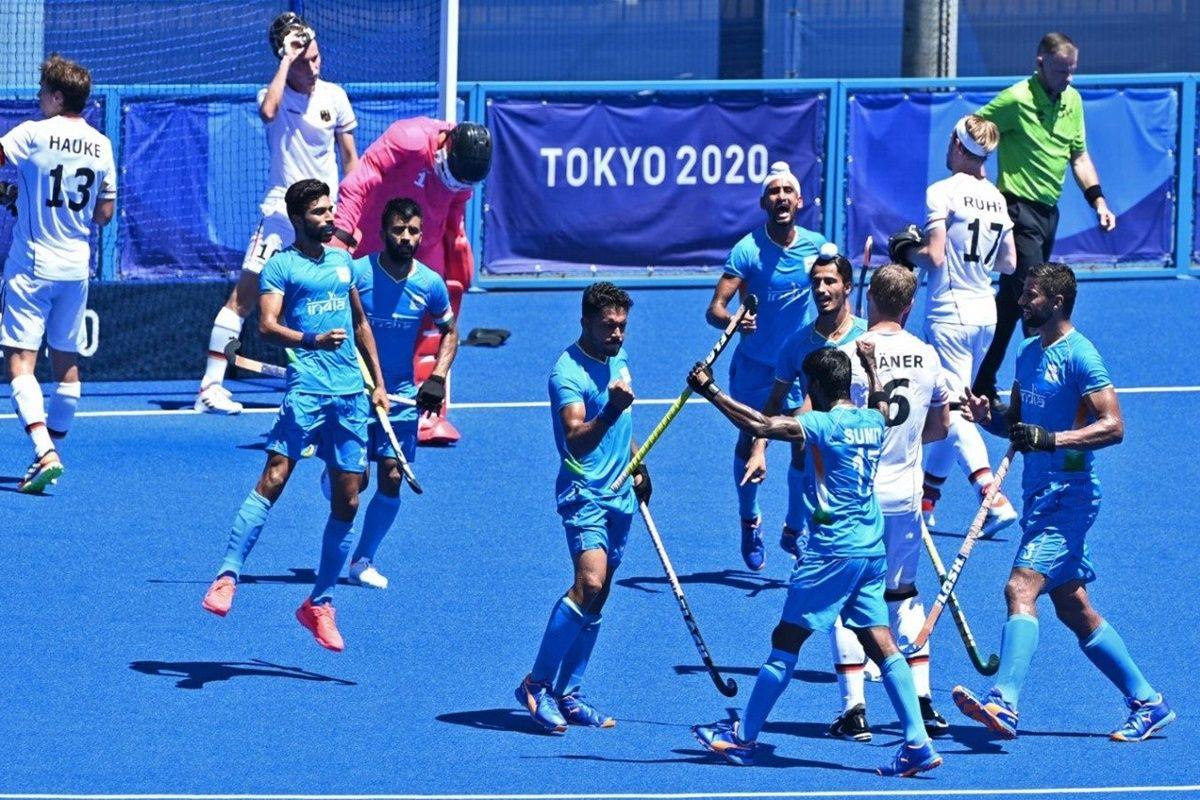 India Beat Germany and Won Bronze in Men's Hockey