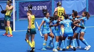 Tokyo Olympics 2020, Hockey: India Women Stun Australia 1-0 to Seal Place in Semifinals For First Time in History
