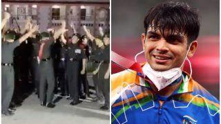 VIDEO: How Indian Army Celebrated Neeraj Chopra's Historic Gold in Javelin!