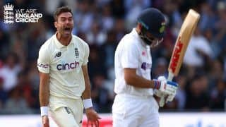 3rd Test Report: Anderson & Co. Put England in Command After India Bowled Out For Paltry 78 on Day 1