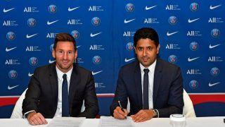 PSG President Nasser al-Khelaifi REACTS After Lionel Messi Signs 2-Year-Deal After Barcelona Exit