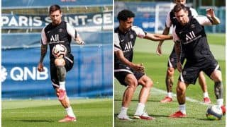 VIDEO: Lionel Messi Flaunts His Skills During First Training Session at PSG