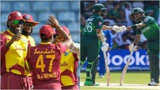 WI vs PAK Match Highlights, 3rd T20I Updates: Rain Washes Out Play Between West Indies-Pakistan in Guyana